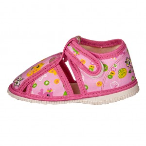 Dětská obuv Přezůvky RAK růžové - Boty a dětská obuv