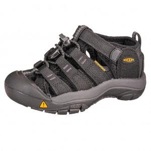 Dětská obuv KEEN Newport H2 /black/keen yellow - Boty a dětská obuv