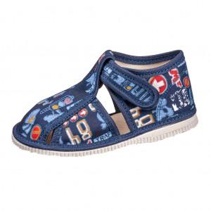 Dětská obuv Přezůvky RAK modré - Boty a dětská obuv