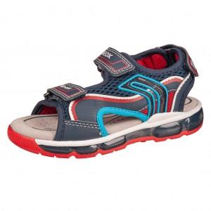 Dětská obuv GEOX J S. Android  /navy/red - Boty a dětská obuv