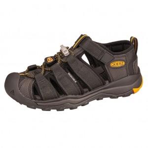 Dětská obuv KEEN Newport Neo H2 /black/keen yellow - Boty a dětská obuv