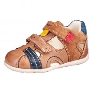 Dětská obuv GEOX B Kaytan  /caramel - Boty a dětská obuv