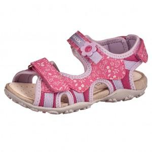 Dětská obuv GEOX J S.Roxane  /fuchsia/lilac - Boty a dětská obuv