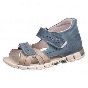 Dětská obuv Sandály Santé 950/803 /modro/šedé - Boty a dětská obuv