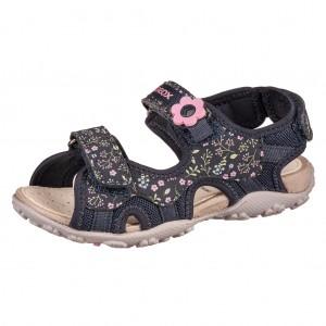 Dětská obuv GEOX J S.Roxane  /dk navy - Boty a dětská obuv