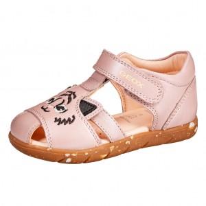 Dětská obuv GEOX Alul  /dk. rose - Boty a dětská obuv