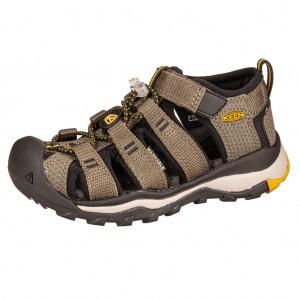 Dětská obuv KEEN Newport Neo H2 /dusty olive/sulphur -  Sandály