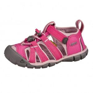 Dětská obuv KEEN Seacamp   /very berry/dawn pink -  Sandály