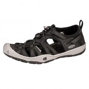 Dětská obuv KEEN Moxie sandal   black/drizzle -  Sandály