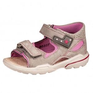Dětská obuv Ricosta Manto  /graphit/rosada  *BF WMS W -  Sandály