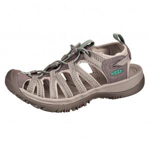 Dětská obuv KEEN Whisper   medium grey/peacock green -  Sandály