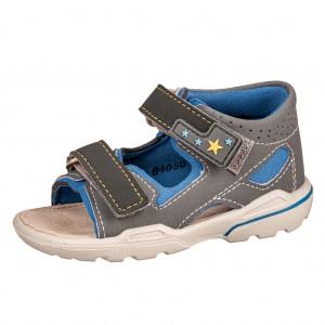 Dětská obuv Ricosta Manto  /graphit/azur *BF WMS W -  Sandály