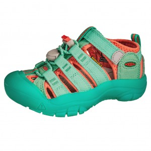 Dětská obuv KEEN Newport H2 /cockatoo/coral -  Sandály