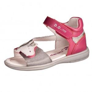 Dětská obuv D.D.Step  K03-497AM  Red -  Sandály
