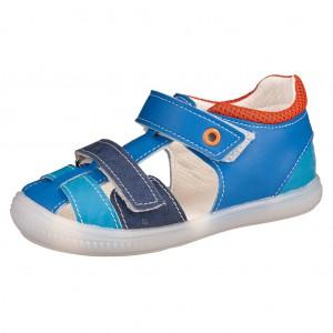 Dětská obuv Sandálky Santé 510/201 /modré -  Sandály
