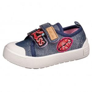 Dětská obuv D.D.Step plátěnky CSG-141  /royal blue -  Celoroční