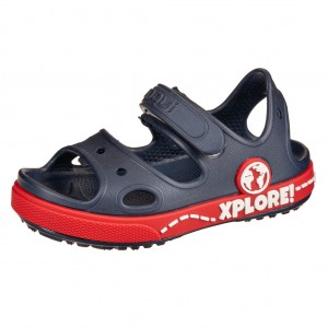 Dětská obuv Coqui sandálky Yogi  /navy/red -  Sandály