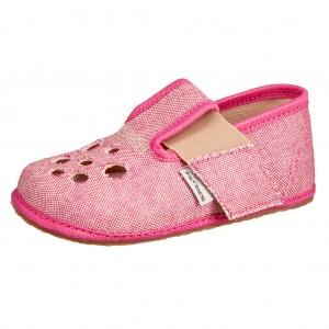 Dětská obuv Domácí obuv Pegres BF03 růžová *BF -  Na doma a do škol(k)y