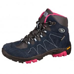 Dětská obuv Brütting Bergen High   /marine/pink/blau -  Celoroční