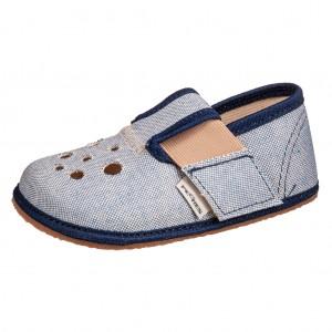 Dětská obuv Domácí obuv Pegres BF03 modrá *BF -  Na doma a do škol(k)y