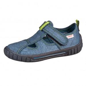 Dětská obuv Domácí obuv Superfit 1-000272-8000 WMS M IV - Boty a dětská obuv