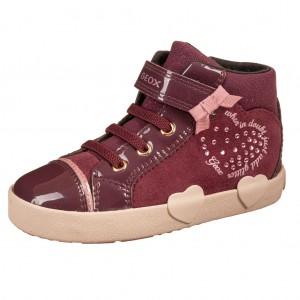 Dětská obuv GEOX B Kilwi G   /prune - Boty a dětská obuv