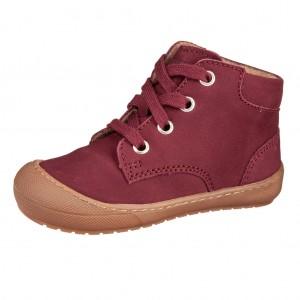 Dětská obuv Richter 0446  /nubuk/burgundy - Boty a dětská obuv