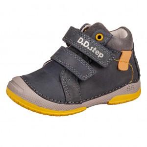 Dětská obuv D.D.Step 038-501 Royal Blue -  První krůčky