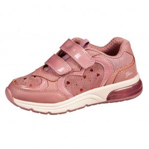 Dětská obuv GEOX J Spaceclub G  /dark rose -  Sportovní