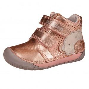 Dětská obuv D.D.Step  070-582  Metallic Pink  *BF - Boty a dětská obuv