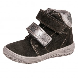 Dětská obuv Jonap B2SV  černo stříbrné  *BF - Boty a dětská obuv