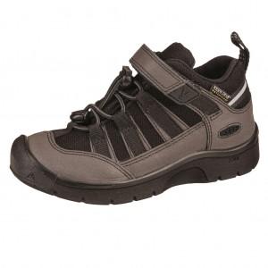 Dětská obuv KEEN Hikeport 2 low WP  /black/black -  Sportovní
