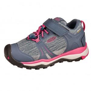 Dětská obuv KEEN Terradora II LOW WP  /blue fog/pink peacock -  Sportovní