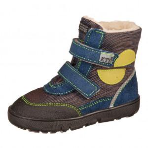 Dětská obuv KTR K012   /modrá  TEX - Boty a dětská obuv