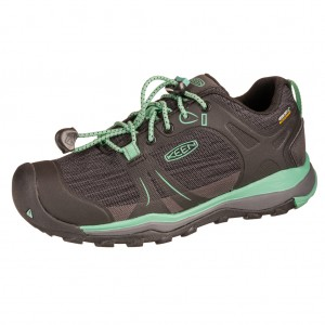 Dětská obuv KEEN Terradora II LOW WP  /black/beveled glass -  Sportovní