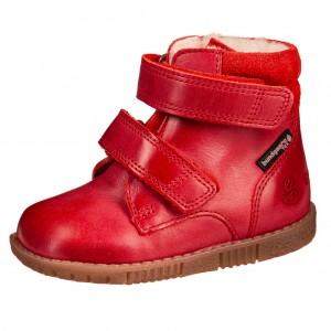 Dětská obuv Bundgaard Rabbit velcro /red WS - Boty a dětská obuv