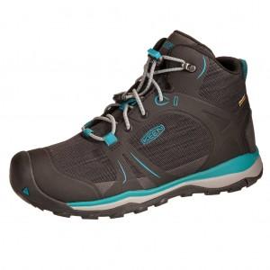 Dětská obuv KEEN Terradora MID WP  /magnet/bluebird - Boty a dětská obuv