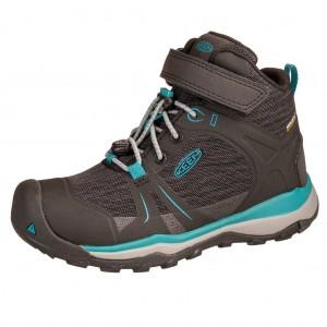 Dětská obuv KEEN Terradora MID WP  /magnet/bluebird -