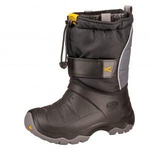 Dětská obuv KEEN Lumi Boot II WP  /black steel/grey - Boty a dětská obuv