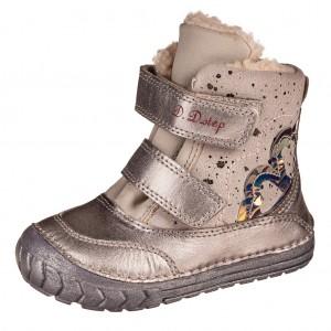 Dětská obuv D.D.Step  029-932A  Silver - Boty a dětská obuv