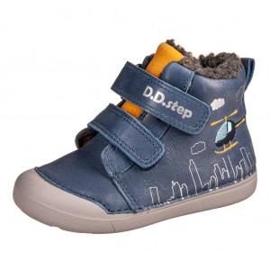 Dětská obuv D.D.Step 066-806B  Royal Blue -  První krůčky
