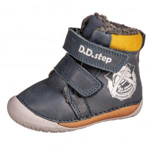Dětská obuv D.D.Step 070-518  Royal Blue - Boty a dětská obuv