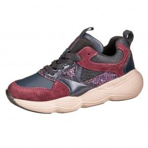 Dětská obuv GEOX J Bubblex G   /navy/prune -  Celoroční