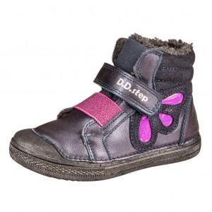 Dětská obuv D.D.Step  049-762AM  Royal Blue - Boty a dětská obuv