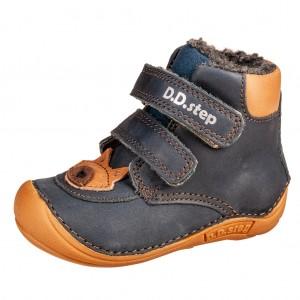 Dětská obuv D.D.Step 018-814 Royal Blue BF - barefoot...