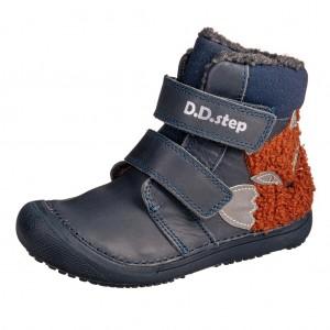 Dětská obuv D.D.Step 063-910M Royal Blue - barefoot...