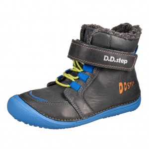 Dětská obuv D.D.Step 063-465L Black - Zimní