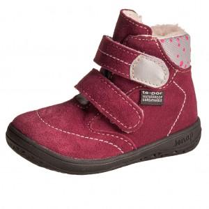 Dětská obuv Jonap B5SV vínové  *BF - Zimní