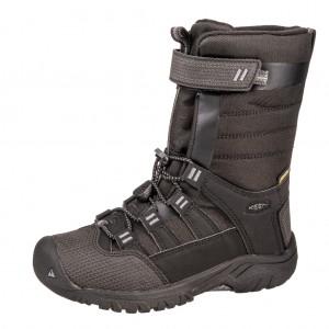 Dětská obuv KEEN Winterport neo WP   /raven/black - Zimní