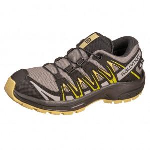 Dětská obuv Salomon XA Pro 3D CSWP J  /gargoyle/black - Boty a dětská obuv